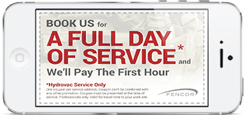 Hydrovac Service Coupon
