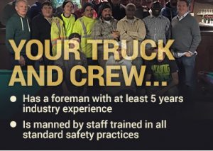 Your Fencor truck & crew